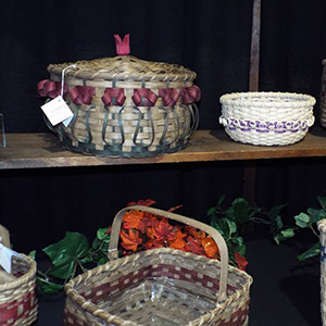 multicolor baskets