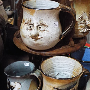 Mugs with faces
